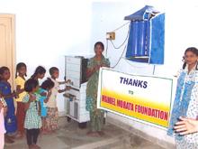 Proyectos - Mejoras en el internado de Reddipalem (Sarapaka)